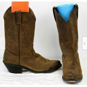 Durango Western Boots Women 8.5 Classic Pull on RD